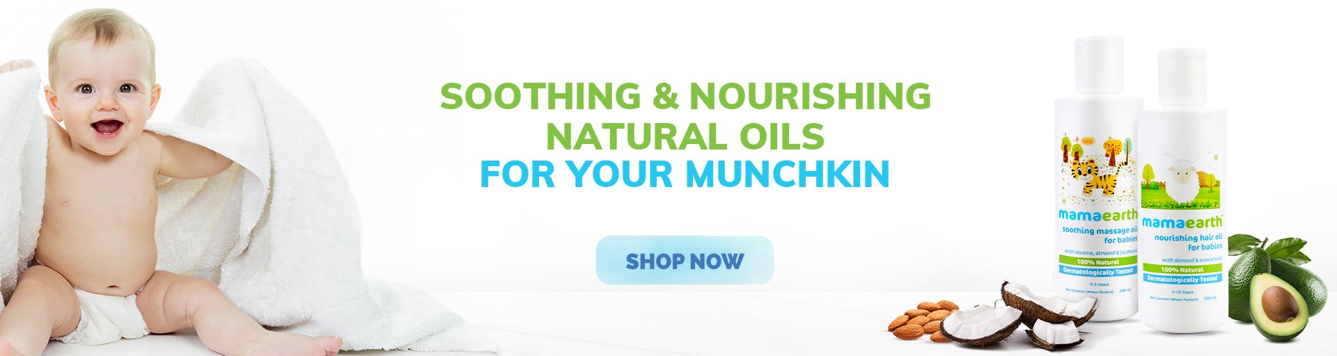 mamaearth.in - Baby Natural oil starting at just ₹399
