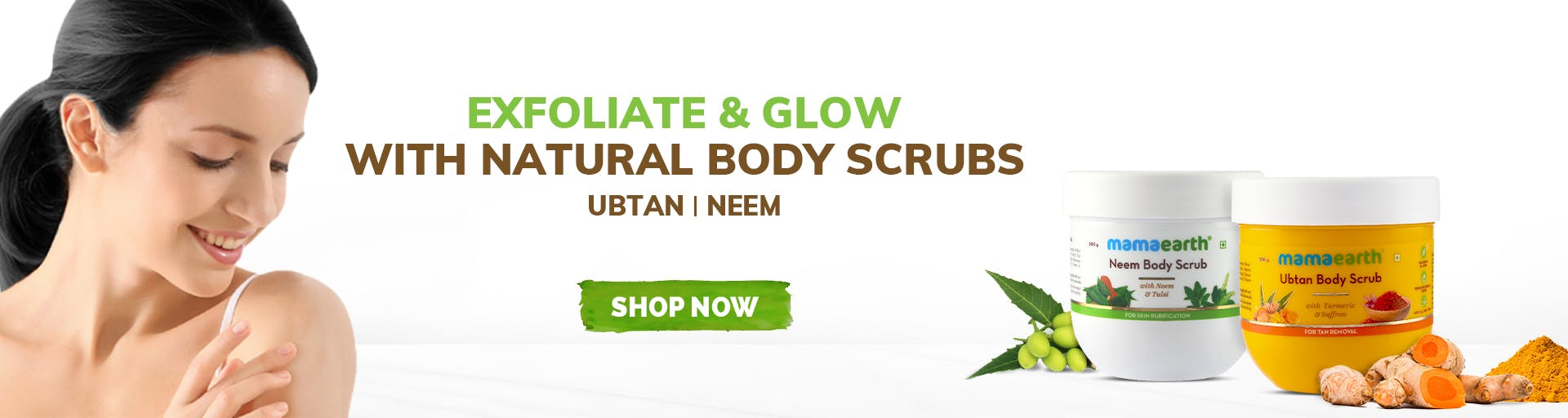 mamaearth.in - Body Scrub starting at just ₹499