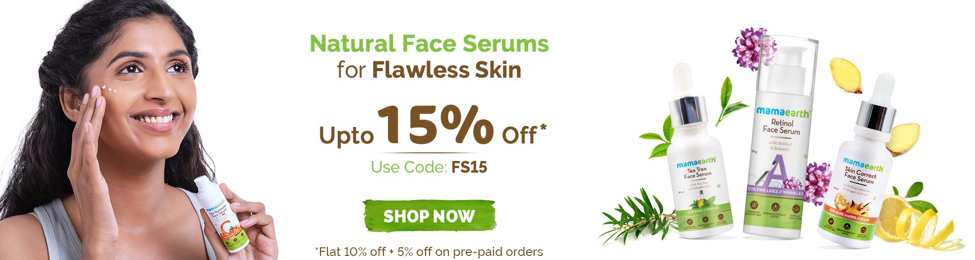 mamaearth.in - Up To 15% OFF on Face Serum