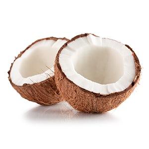 Almond oil conditioner with coconut oil
