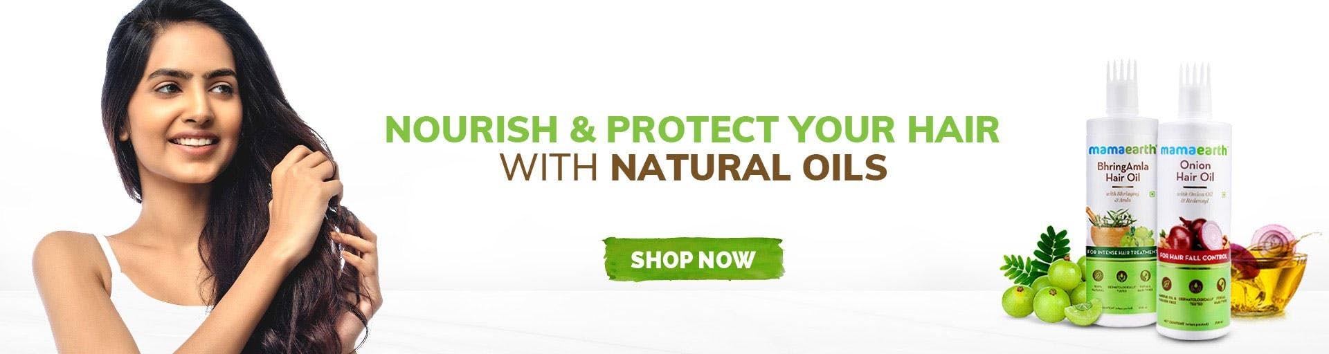 mamaearth.in - Mamaearth Hair Oils starting at just ₹299