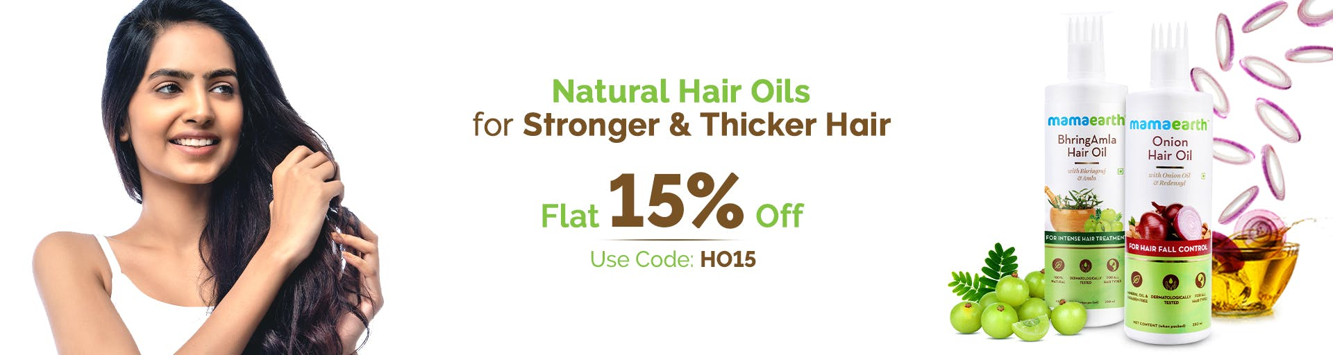 mamaearth.in - 15% Off on Hair Oils
