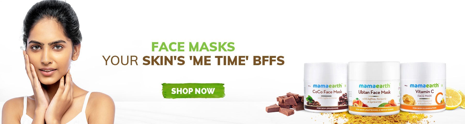 mamaearth.in - Face Masks starting at just ₹149