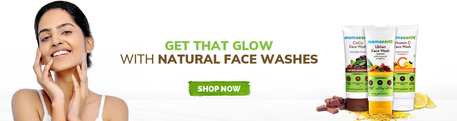 mamaearth.in - Mamaearth Face Wash starting at just ₹249