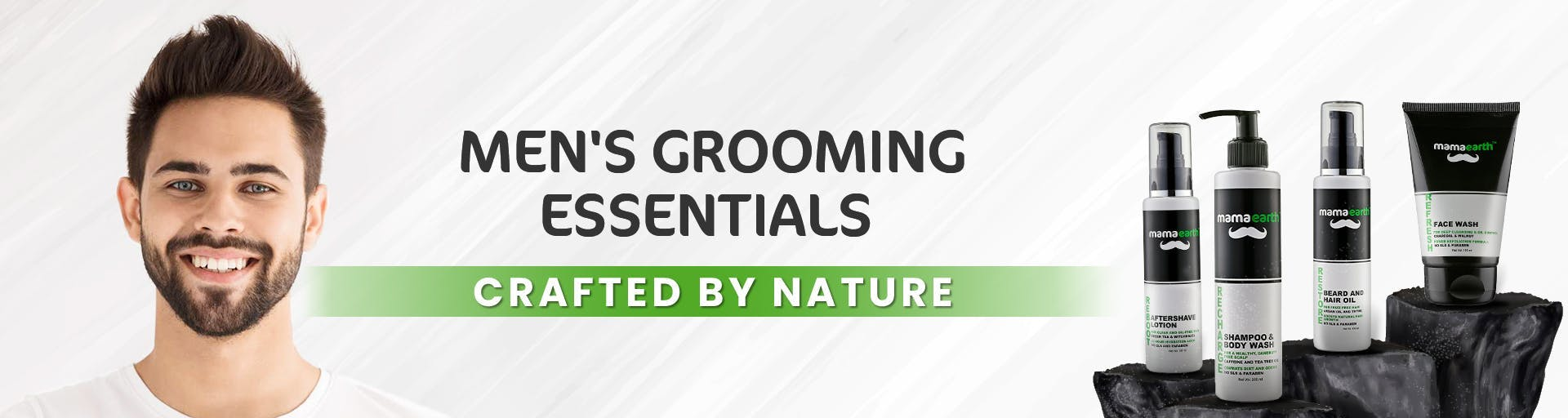 mamaearth.in - Men's Grooming Essentials starting at just ₹329