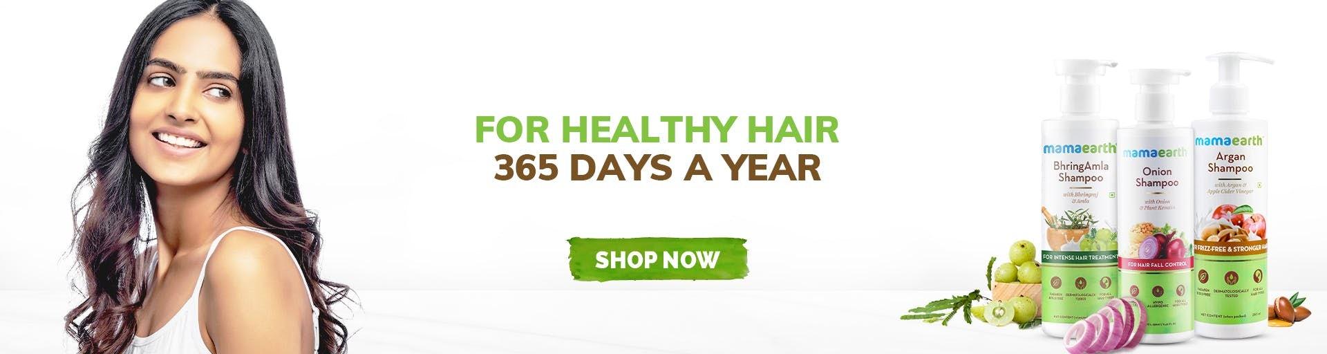 mamaearth.in - Shampoo starting at just ₹349